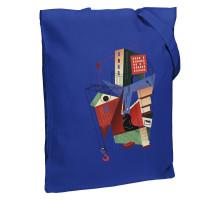 Холщовая сумка Architectonic, ярко-синяя