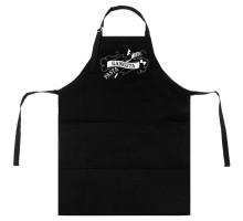 Фартук Gangsta Pasta, черный