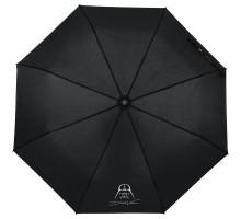 Зонт складной Darth Vader, черный