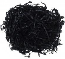 Бумажный наполнитель «Блеск», черный