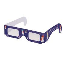Волшебные очки Magic Eyes, со снеговиками