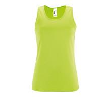Майка женская Sporty TT Women, зеленое яблоко