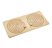 Межполушарная доска Wood Games, круглая спираль