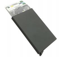 Футляр для пластиковых карт Motion, черный