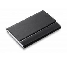 Футляр для визитных карт Slim, черный
