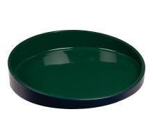 Блюдо Form Fluid, среднее, зеленое