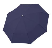 Зонт складной Carbonsteel Magic, темно-синий