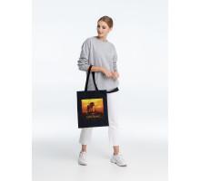 Холщовая сумка Sunset, черная
