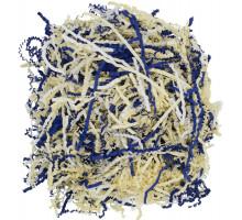 Бумажный наполнитель Chip Mix, синий, белый, бежевый