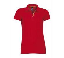 Рубашка поло Patriot Women, красная