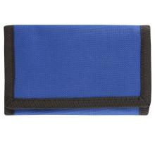 Бумажник на липучке, синий