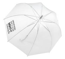 Прозрачный зонт-трость «Прозрачно все»