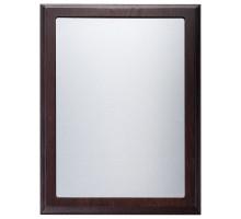 Плакетка Noble Silver, коричневая, ver. 2