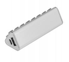 Внешний аккумулятор-подставка stuckBank Plus 2600 мАч, серебристый
