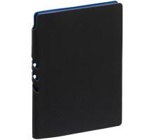 Ежедневник Flexpen Black, недатированный, черный с синим