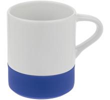 Кружка с силиконовой подставкой Protege , синяя