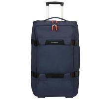 Дорожная сумка на колесах Sonora M, синяя