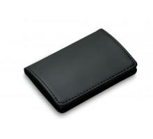 Футляр для визитных карточек Gianni, черный